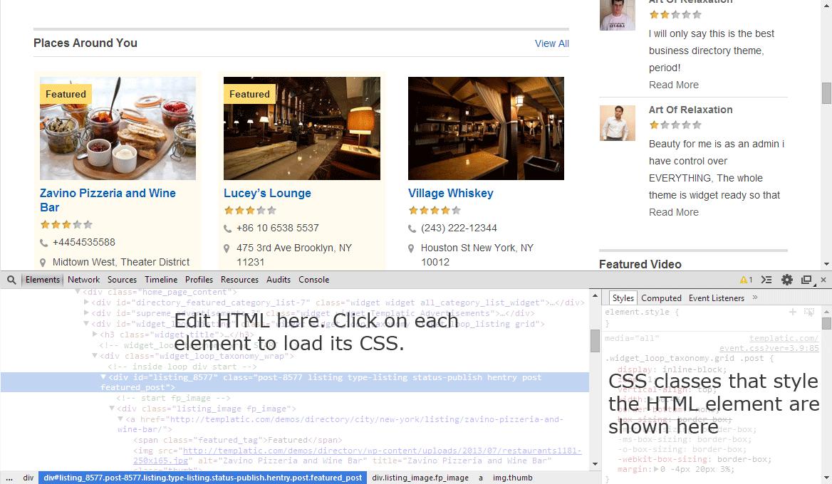 Inspect Element Chrome