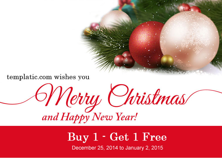 Templatic.com wishes you merry christmas and happy holidays!