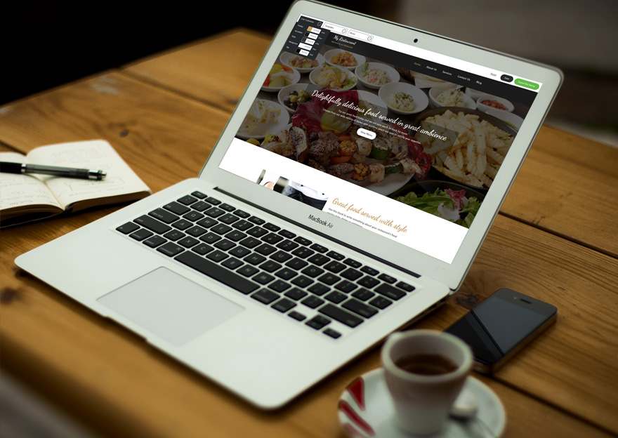restaurant-theme-laptop