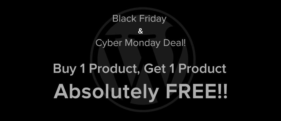 WordPress Themes black friday cyber monday deal