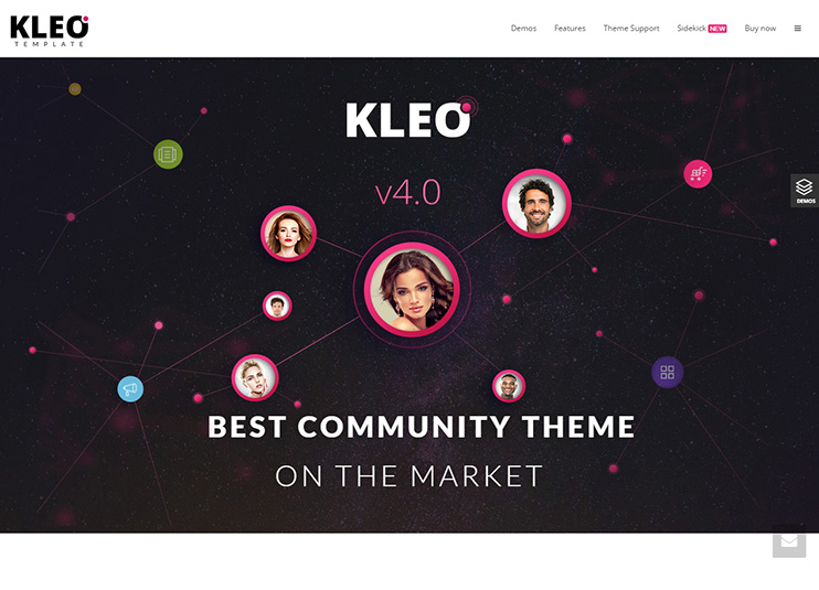 KLEO - Next level WordPress Theme at themeforest