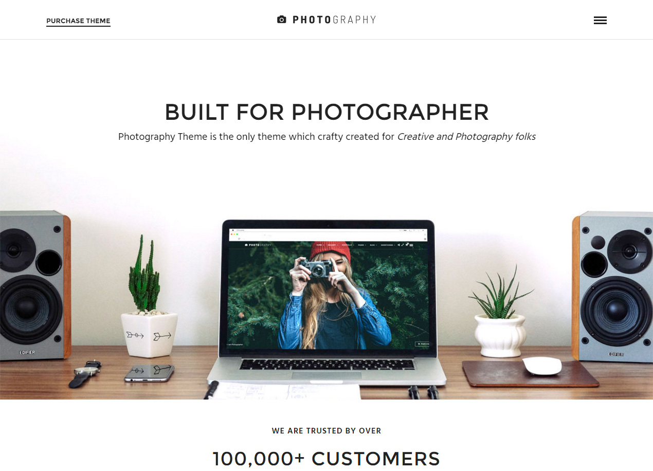 ThemeForest - Photography Responsive Photography WordPress Theme - Just another WordPress site