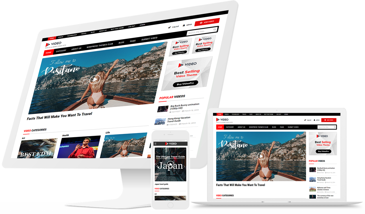 Best WordPress Video Theme of 2019 - Create your own video portal