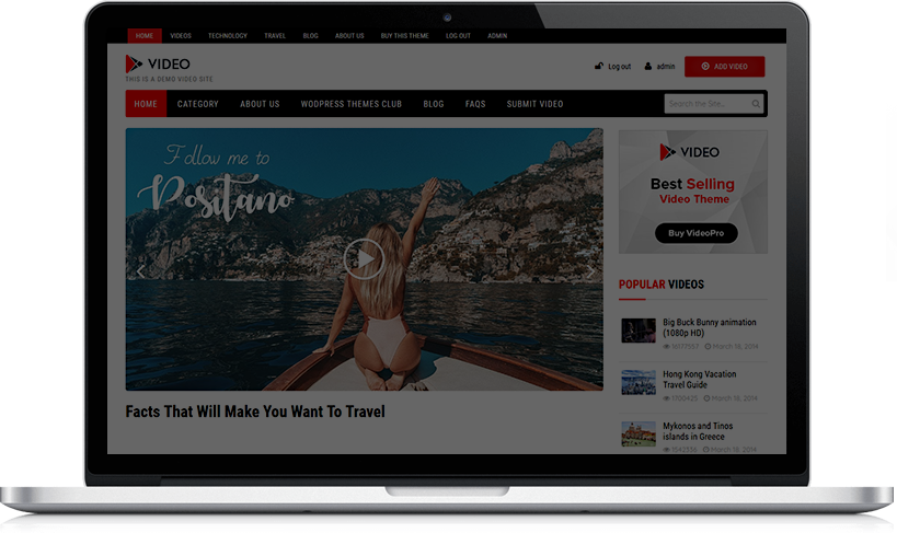 Best WordPress Video Theme of 2018 - Create your own video portal
