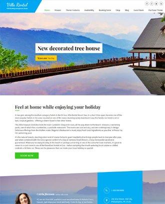 Villa Rental Theme