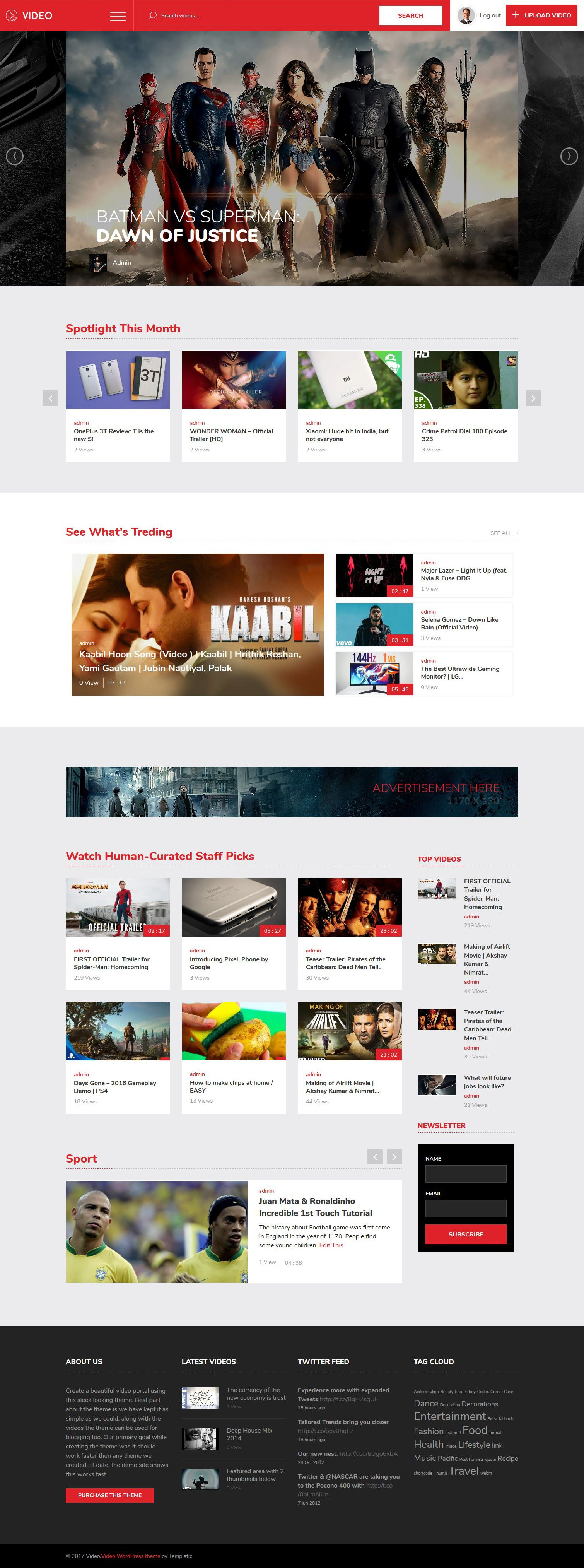Vivo Video Theme - Best Video WordPress Theme of (2019)