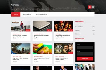 Vivo Video Theme - Best Video WordPress Theme of (2019)
