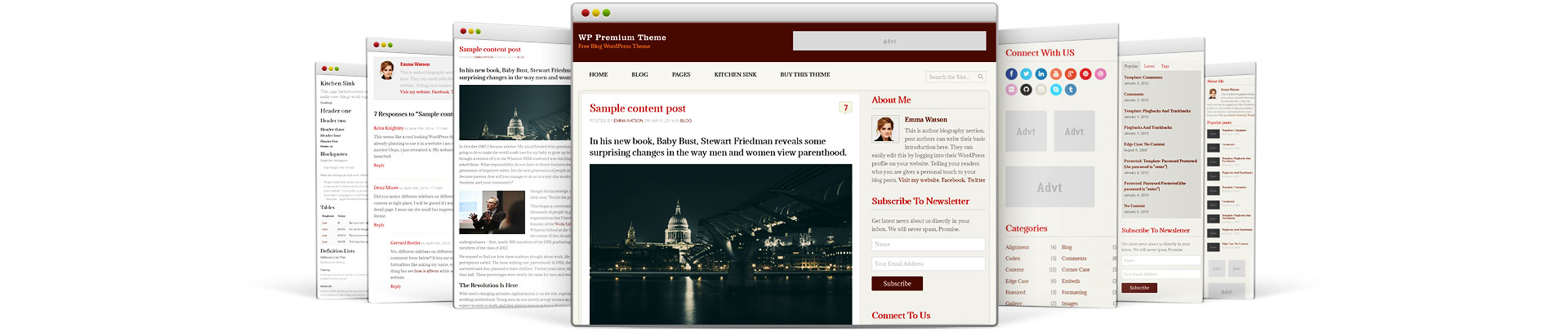 The WP Premium Free WordPress Themes