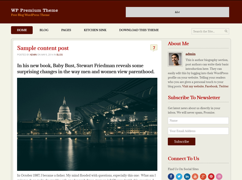 WPPremium WordPress Theme