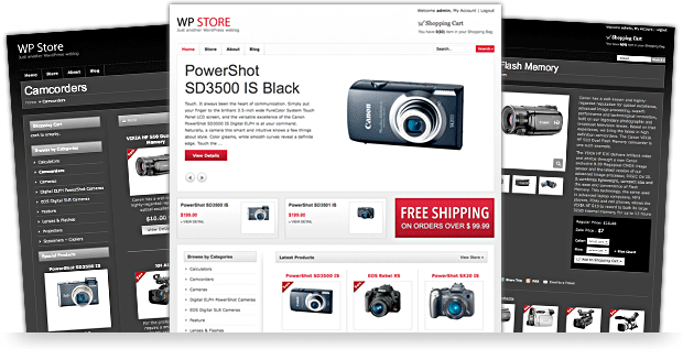 WP Store premium ecommerce wordpress themes