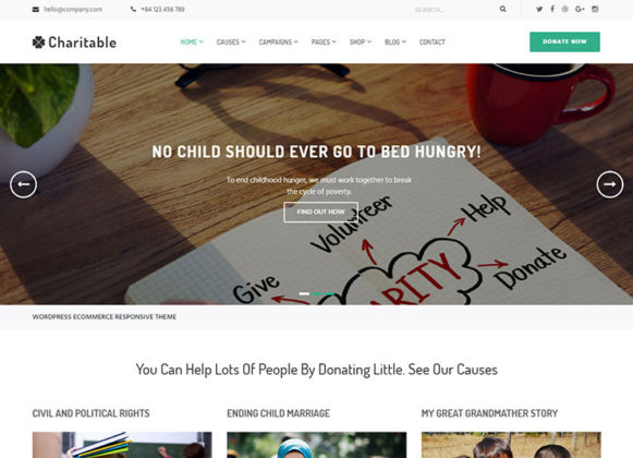 Charitable Theme