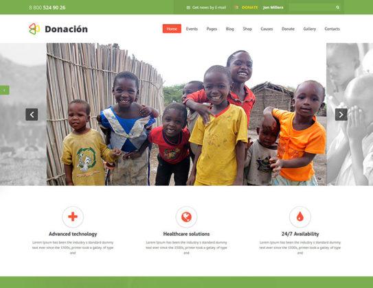 Donation Responsive Charity Theme