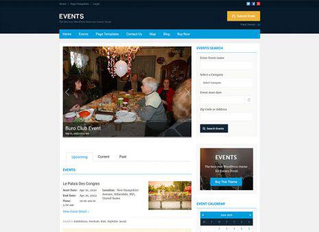 25+ Best WordPress Event Themes 2018 - SlashWP