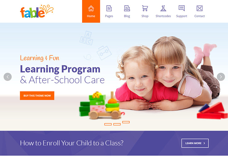 55  best education wordpress themes for training centers
