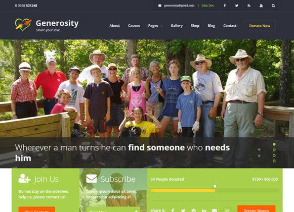 Generosity Theme