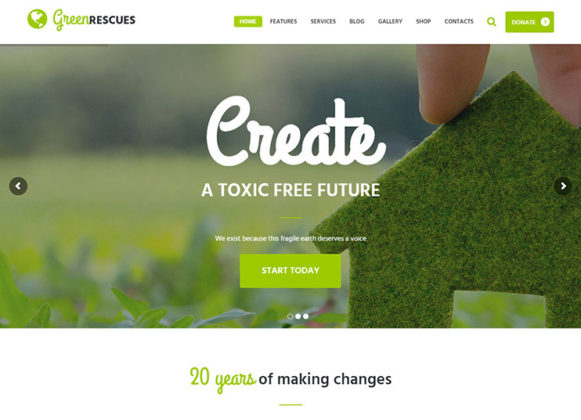 Green Rescues Theme