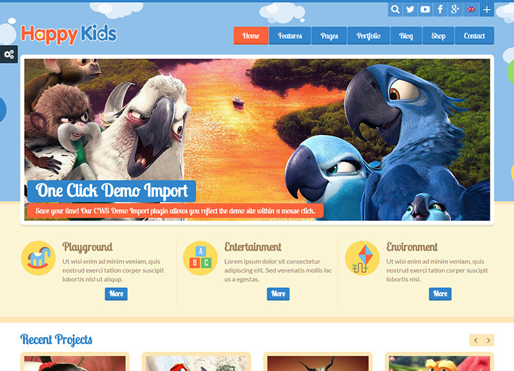 45+ Best Education WordPress themes for Training centers, Schools ...