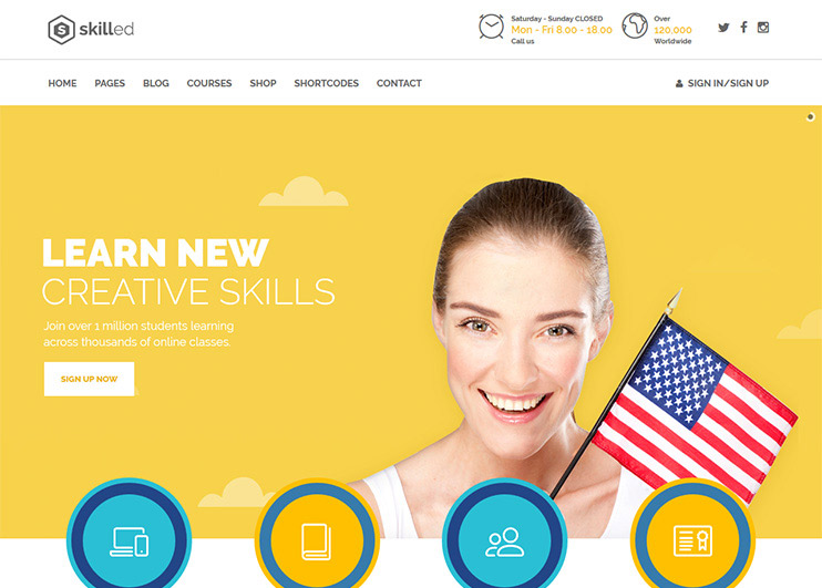 55 Best Education Wordpress Themes For Training Centers Schools