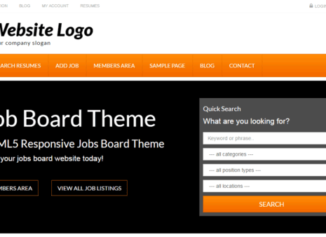 25+ Excellent WordPress Job Board Themes for 2017 - SlashWP