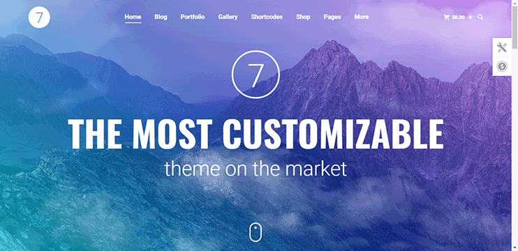 The7 - The Most Customizable Theme on the Market themeforest