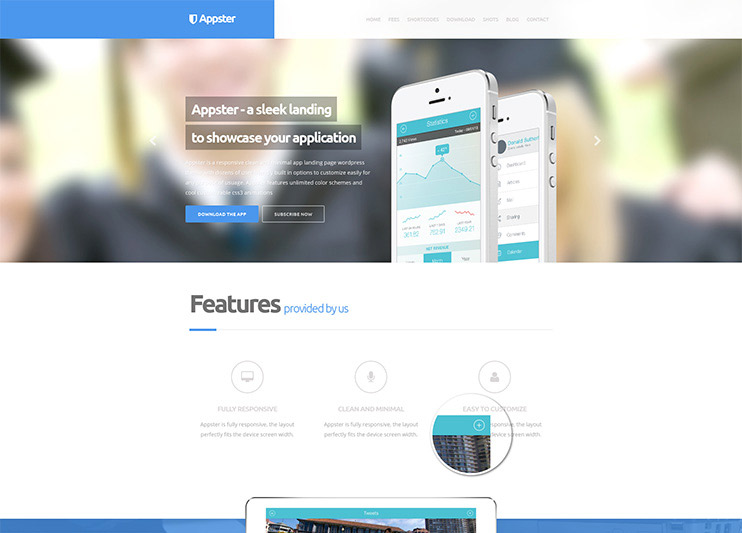 Appster WP Theme