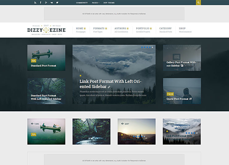 best adsense wordpress themes