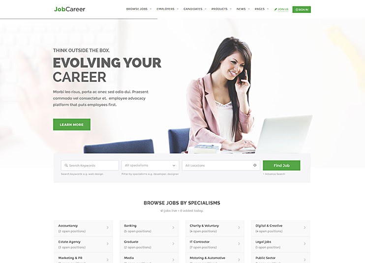 25  excellent wordpress job board themes for 2019