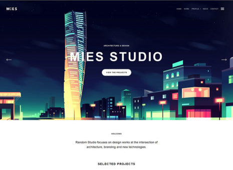 20+ Best WordPress Themes for Architects and Design studios - 2018 ...