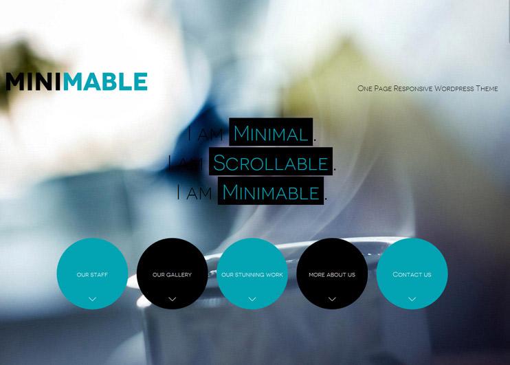 Minimable WordPress Theme