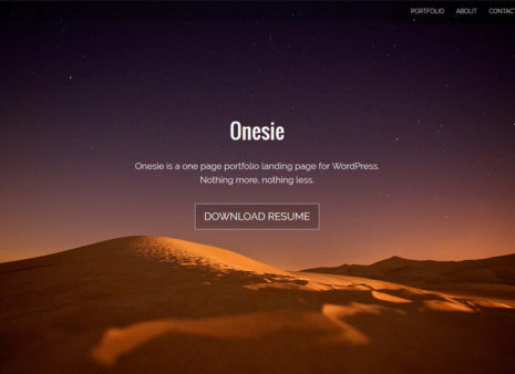 35+ Amazing and Free One Page WordPress Themes for 2018 - SlashWP