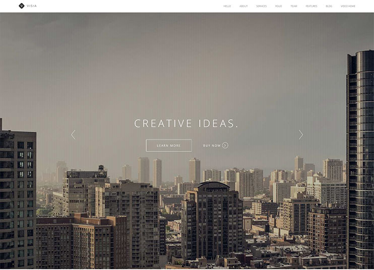 best wordpress one page themes