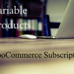 Adding product variations in WooCommerce subscriptions