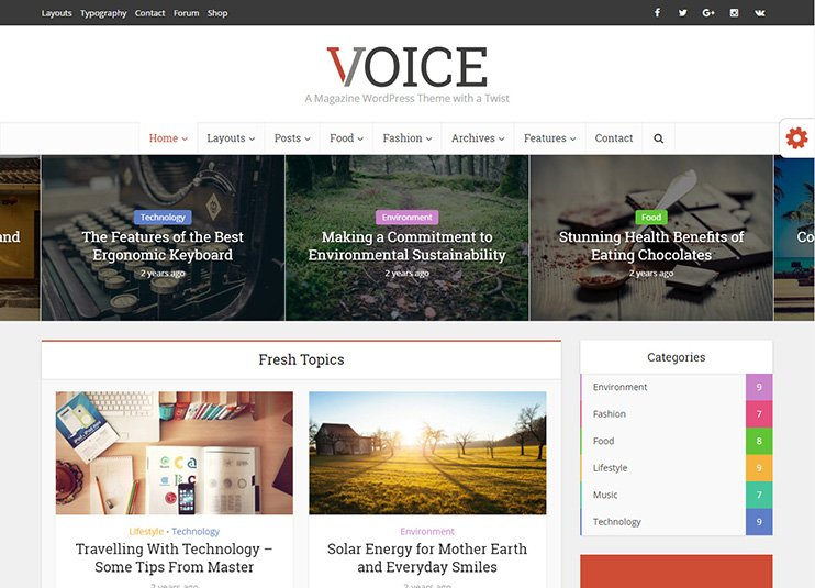 25+ Best WordPress News Magazine Themes - 2018