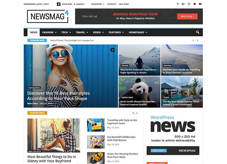 25+ Best WordPress News Magazine Themes - 2018