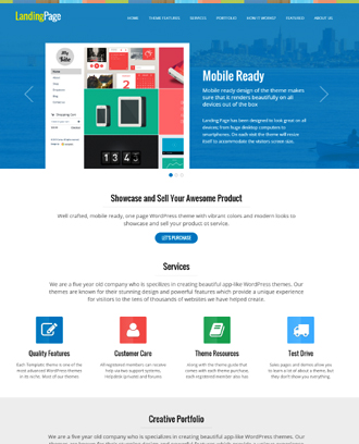 New Best Landing Page WordPress Themes SlashWP - Seo landing page template