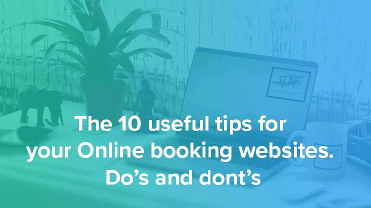 Online booking websites