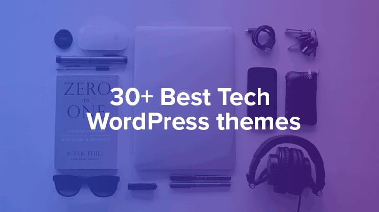 Tech wordpress themes