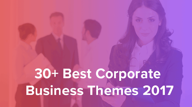 Best Corporate business wordpress themes