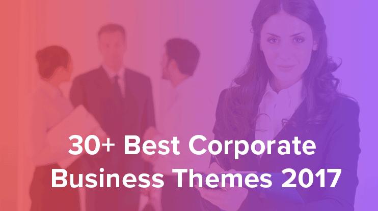 Best Corporate business wordpress themes