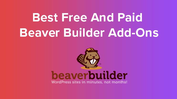 best beaver builder addons