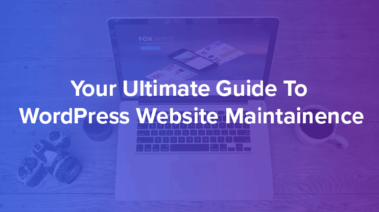 wordpress website maintainence