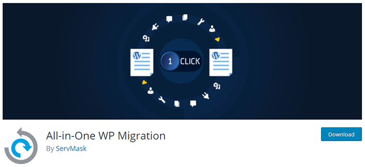Moving WordPress site - Best migration plugin