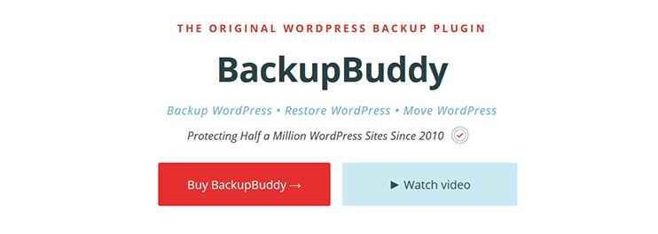 Moving wordpress site - Backup buddy wordpress plugin