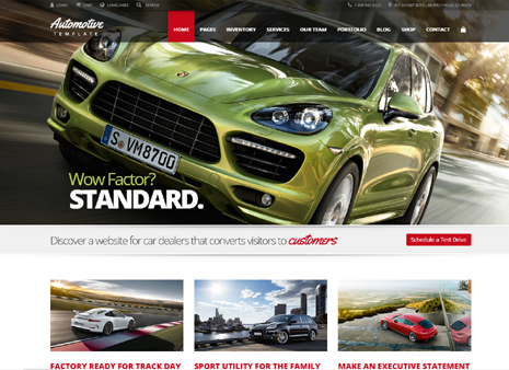 20 best automotive wordpress themes 2018 slashwp automotive car dealership business wordpress theme fandeluxe Choice Image