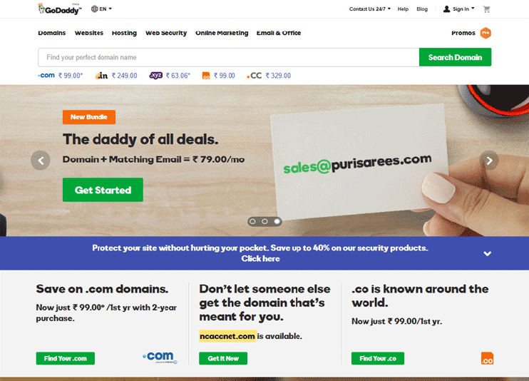 Register domain for your coupon directory website