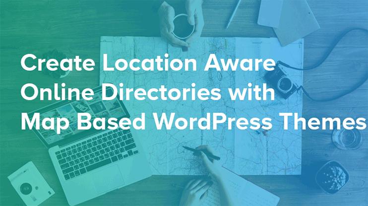 Map Based WordPress Theme