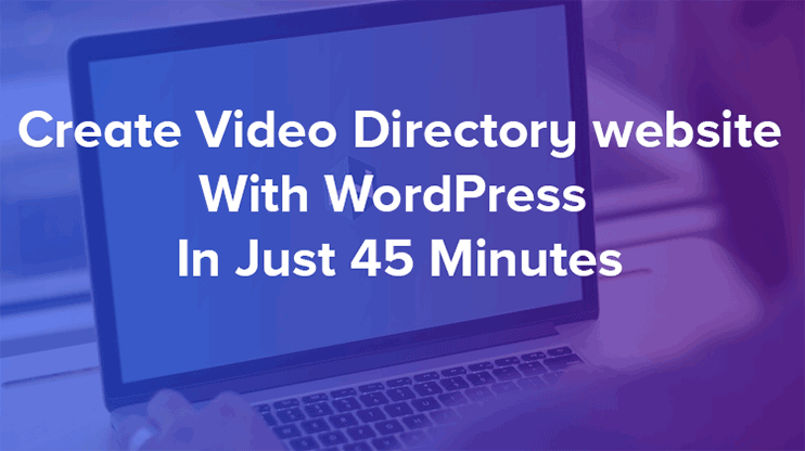 Video directory wordpress theme