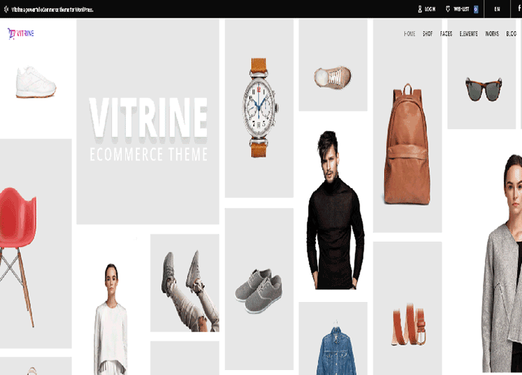 Vitrine WooCommerce WordPress theme at themeforest