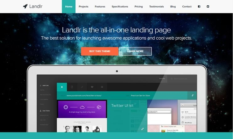 New 25+ Best Landing Page WordPress Themes 2018 - SlashWP