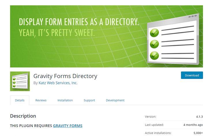 Directory plugin